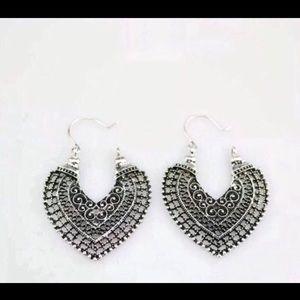 Jewelry - Boho Tibetan silver earrings 🆕 AWSOME REVIEWS